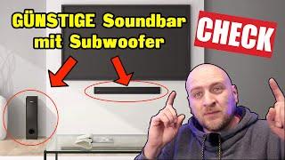 ✅ Creative Stage V2 2 1 Soundbar mit Subwoofer Test