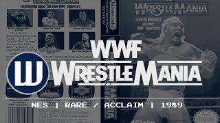 History of WWE Video Games - WWF Wrestlemania (NES)