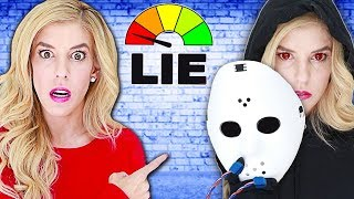 Lie Detector Test On RZ Twin FACE REVEAL! Is The GAME MASTER A Liar? (Quadrant Clues To Find Truth)