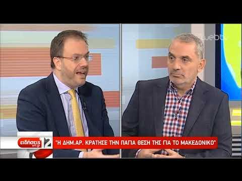 Θεοχαρόπουλος στην ΕΡΤ: Ανεξήγητη η στάση της ηγεσίας του ΚΙΝ.ΑΛ. | 27/1/2019 | ΕΡΤ