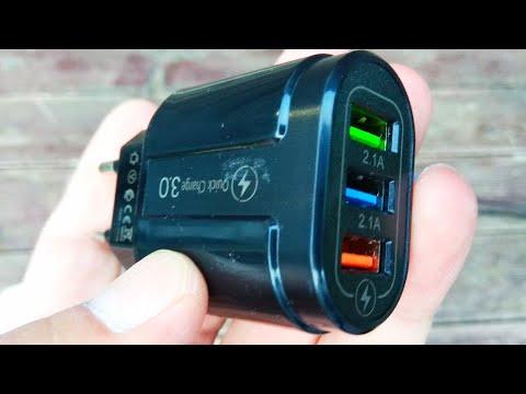 Универсальное зарядное устройство Quick Charge и магнитный кабель зарядки