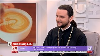 У гостях Сніданку - переможець сьомого Голосу країни протоієрей Олександр Клименко