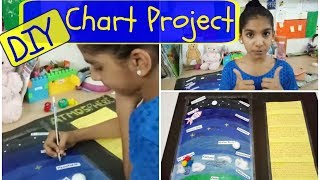 DIY   Chart Project for 6th - 7th grade school students   Topic - Atmosphere