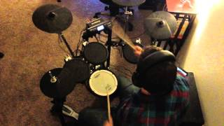 A Wolf Descends Upon the Spanish Sahara (drum cover)