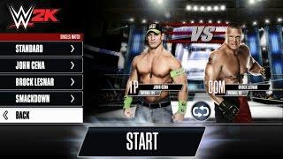 WWE 2K: John Cena VS Brock Lesna Part 9