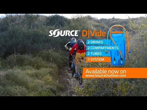 D|Vide 2 in 1 Hydration System for Bikers