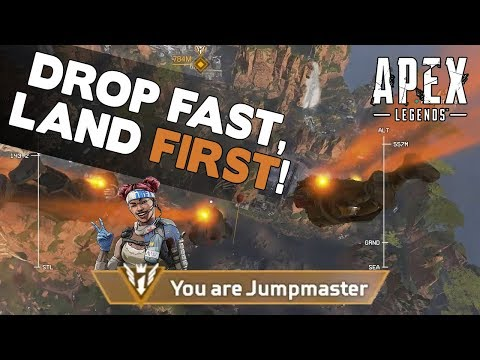 Apex Legends Drop Guide - How to Drop Fast and Land First!