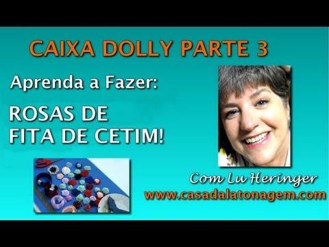 Caixa Dolly 3 Rosas De Fita De Cetim Artesanato | Tattoo ... - photo#8