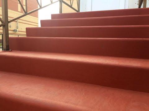 Уникальный материал для облицовки бетонных лестниц