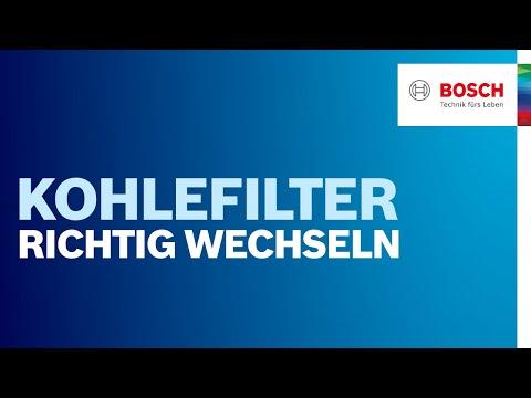 Wie ersetze ich den Kohlefilter meiner Dunstabzugshaube? | Bosch Dunstabzugshaube