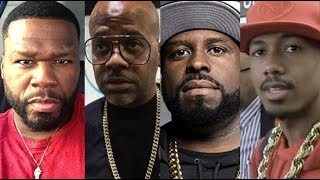 FUNKMASTER FLEX Joins 50 CENT Going In On DAME DASH & NICK CANNON