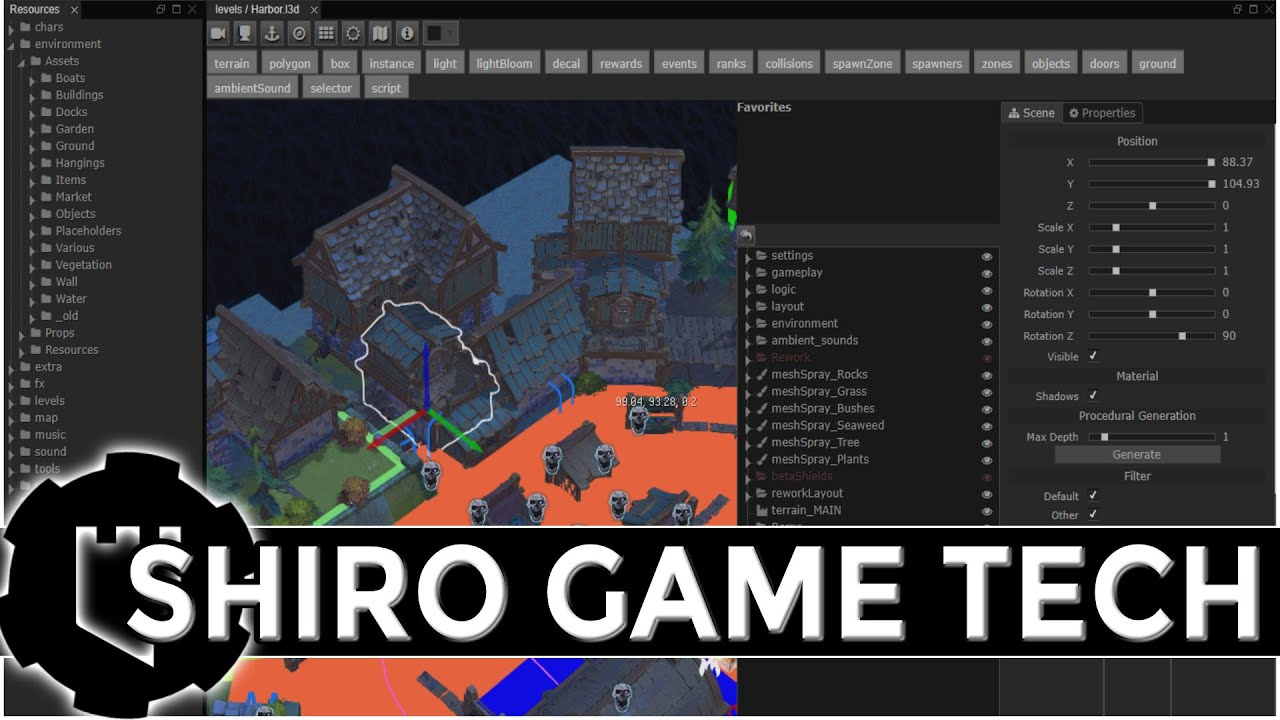 Shiro's Game Tech -- Amazing, Battle Tested & Relatively Unknown Game Engine