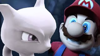 Super Smash Bros 4 All Cutscenes / All Character Trailers | Wii U and 3DS 【1080p HD】 +Mewtwo