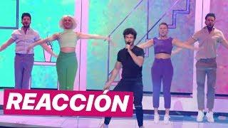 """REACCIÓN A Miki Con """"La Venda"""" En El Exclusive Rehearsal Clip De Eurovision 2019 (SPAIN)"""