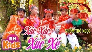 Xúc Xắc Xúc Xẻ ♫ Nhóm Thỏ Ngọc ♫ Nhạc Tết Thiếu Nhi Sôi Động Cho Bé Ăn Ngon
