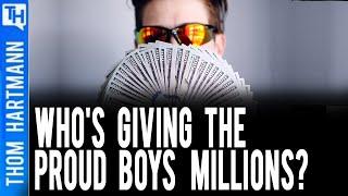 DOJ Warns Mysterious 'Sudden Windfall' of Money to Proud Boys
