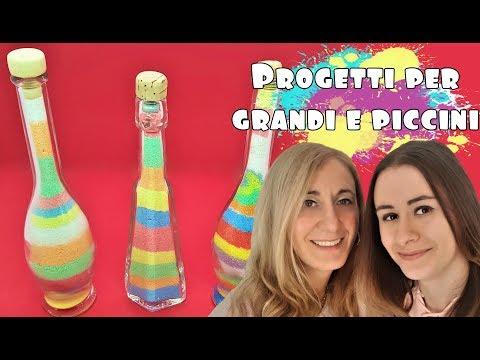 Bottiglie ARCOBALENO - Progetti per Grandi e Piccini