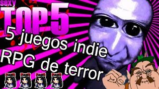 Top 5 Juegos Indie Horror Rpg Maker Video Video