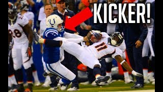 NFL Best Tackles By Kickers || HD