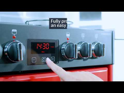 Belling Slot In Cooker Dual Fuel FARMHOUSE-60-DF - Various Colours Video 1