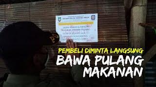 Satpol PP Patroli Tempat Kuliner di Solo, Pasang Stiker Khusus, Pembeli Diminta Langsung Bawa Pulang