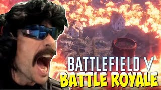 DrDisRespect  REACTS To BattleField 5 Battle Royale Trailer - EPIC Duos Win PUBG Gameplay (8/16/18)