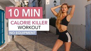 10 MIN CALORIE KILLER / Medium Level - A HIIT Workout That Wont Kill You I Pamela Reif