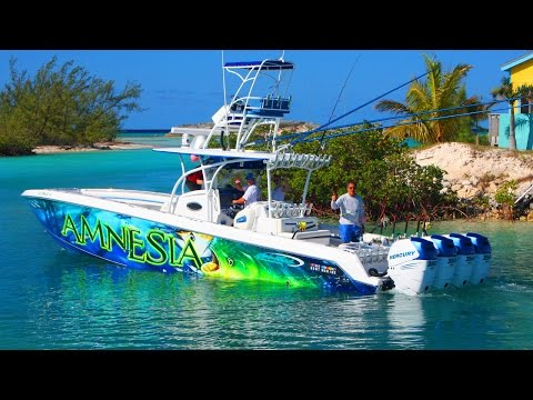 Extreme Fishing Adventure - Nor Tech 392 High Performance Offshore Center Console Boats  salt life