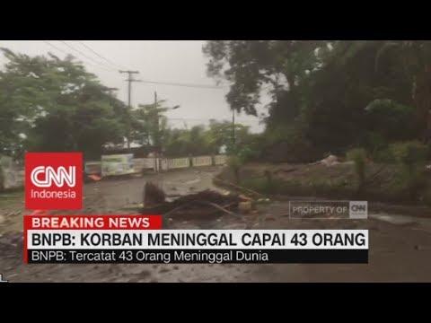 Update Korban Tsunami Anyer: 43 Orang Tewas, 584 Luka, 2 Hilang