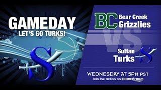 Lady Turk B-Ball!  Sultan vs. Bear Creek