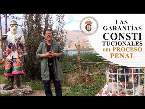 GARANTÍAS CONSTITUCIONALES DEL PROCESO PENAL - Tribuna Constitucional 75 - Guido Aguila Grados