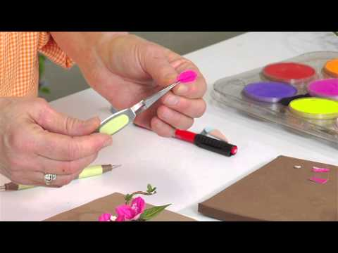 Designing in Susan's Garden with Sizzix Thinlits Bougainvillea Flower Set