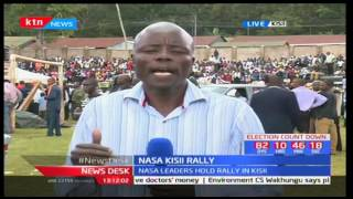 NASA meant to cement campaigns in Gusii as they prepare their statewide tour