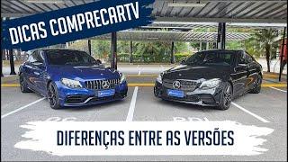 Mercedes-Benz C 300 x Mercedes-AMG C 63 S