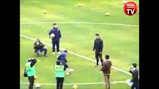 15 yaşındaki kücük çocuk Ronaldo'ya KAFA ATTI [HQ]