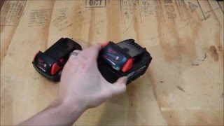 Milwaukee M18 5Ah XC Battery Review