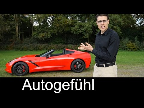 Chevrolet Corvette C7 Stingray REVIEW test drive of Coupé targa hardtop version