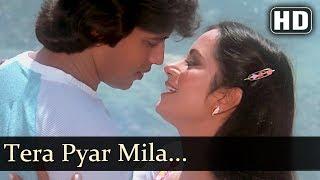 Tera Pyar Mila (HD) - Adat Se Majboor Songs - Mithun