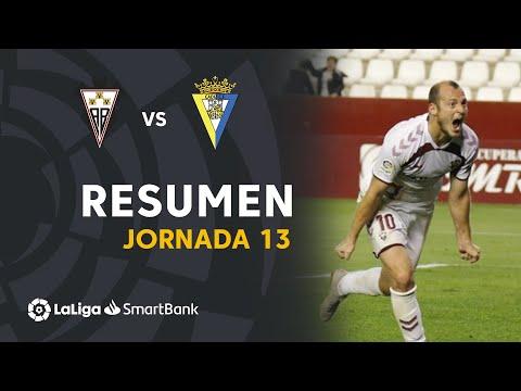 Resumen de Albacete BP vs Cádiz CF (1-0)