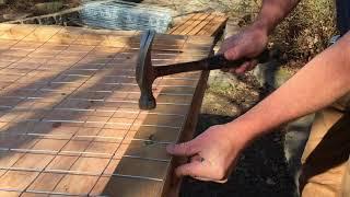 How To Build Dog Fence / Garden Fence DIY