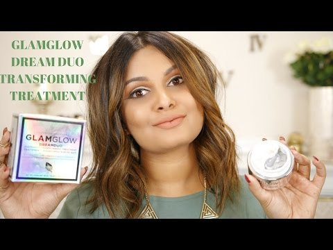 NEW GLAMGLOW DREAM DUO OVERNIGHT TRANSFORMING TREATMENT REVIEW & DEMO