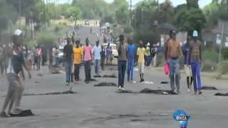 Fatal Clash Between North West Protestors And Police