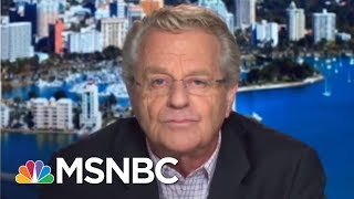 Jerry Springer On The Dignity Of The Oval Office, Donald Trump's Tweets | AM Joy | MSNBC