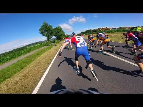 02.07.2017 - Bayerische Meisterschaft 10 km in Wiesau | BM inline speed skating GoPro www.eAlex.me