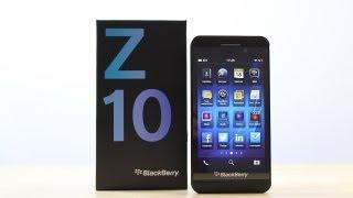 Review: Blackberry Z10 (Deutsch)   SwagTab