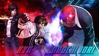 Mugen (Legacy X/Story Mode) Normal Kyo & Nests Kyo Vs (Boss) Orochi Iori XIII