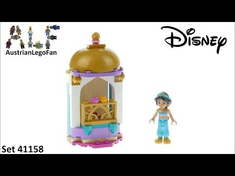 Vidéo LEGO Disney 41158 : La petite tour de Jasmine