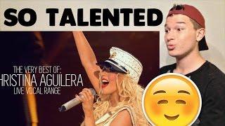 Christina Aguilera Best Live Performances Reaction!