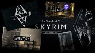 SKYRIM Special Edition Mod : SkyUI