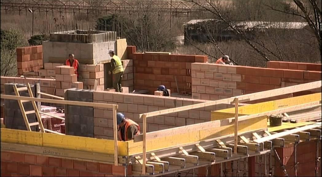 Stavební materiály domu